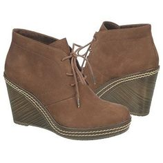 Women's Dr. Scholl's Bethany Brown Suede FamousFootwear.com