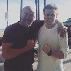 Here is a NEW Pic of Sam Heughan and Graham McTavish SOURCE