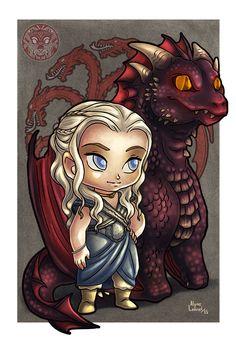 Daenerys by filhotedeleao.deviantart.com on @DeviantArt