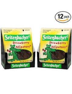 Seitenbacher Strawberry Alligator Gummi Fruit, 3.5-Ounce Bags (Pack of 12): Amazon.com: Grocery & Gourmet Food