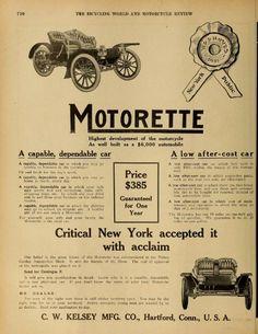1910 Motorette