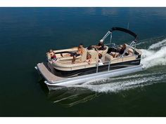 2012 22 Aurora Lounger Twin Tube with Black Walls Manitou Pontoon, Black Walls, Entry Level, Car Detailing, Aurora, Challenges, Camping, Vacation, Pontoon Boats
