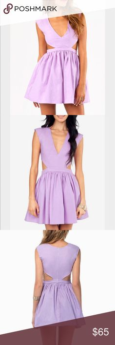 Tobi shock frock cutout dress Super cute and flattering! Perfect for summer! Open to offers Tobi Dresses Mini