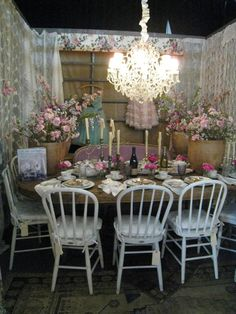 Dining by Design 2013 - Shabby Chic