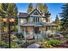 - Custom Queen Anne Victorian in Issaquah
