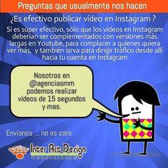Vídeos para Instagram. #agenciasmm #medellin #bogota #riodejaneiro #saopaulo #lima #quito #caracas #panama #costarica #guatemala #puertorico #cartagena #cali #barranquilla #mexico #latinoamerica #riodejaneiro #colombia
