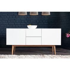 Modern dressoir Lisboa 150cm wit - 35704