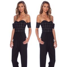 New Arrivals! Line & Dot Christy SweetHeart Jumpsuit Available @RevolveClothing          #LineandDot #LineandDotXO #Jumpsuit #NewArrivals  (at www.thelineanddot.com)