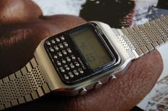 Seiko Calculator Digital Men's Wrist Watch C153 5007