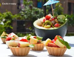 exotic-n-easy cooking: Fruit Chaat Shots