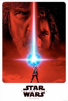 First official poster for Star Wars Episode VIII: The Last Jedi.