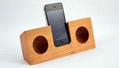 Solid wood speakers by Koostik