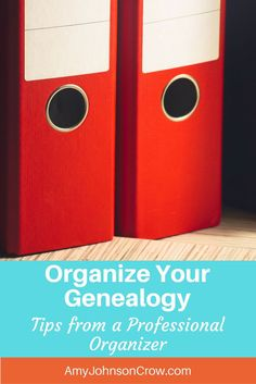 Learn how to organize your genealogy papers with these practical tips from pro organizer Janine Adams of Organize Your Family History.