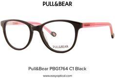 Pull&Bear PBG1764 C1 Black Pull, Eyewear, Bear, Style, Swag, Eyeglasses, Bears, Sunglasses, Outfits