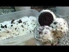 آيسكريم اوريو في 5 دقائق Oreo Ice Cream Youtube Oreo Ice Cream Ice Cream Oreo