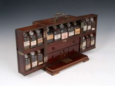 Apothecary Box | From a unique collection of antique and modern apothecary cabinets at http://www.1stdibs.com/furniture/storage-case-pieces/apothecary-cabinets/