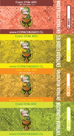 """Entradas para el evento """"Primera Copa Cannabica ADC"""""""
