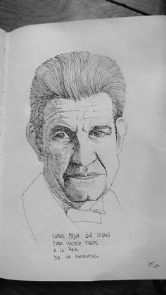 Ink portrait of Lacan #inked #ink #art #design #artist #handmade #ink  #sketch #sketchaday #pencil  #illustration #graphicdesign #graphic #follow