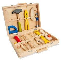 Holzspielzeug Werkzeug vielleicht aus Pappmaché nachmachen?