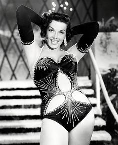 The Most Memorable Swimsuits Ever - Jane Russell from #InStyle