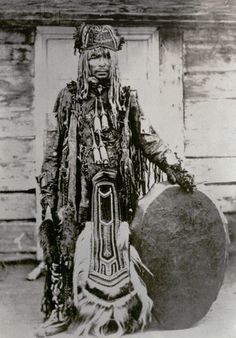 South African Shaman Witch Doctor.