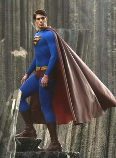 Brandon Routh as Superman. he was great; the script was not his fault. ( Brandon Routh as Superman ) Did an incredible Job! I was truly disappointed that he did Not do Man Of Steel?