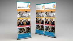 catolic-school-direct-banner Roller Banners, School Direct, Catholic School, Banner Design