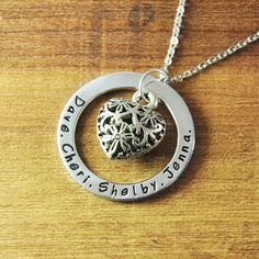 FREE Shipping Personalized name by LoveHandmadeJewelry on Etsy, $17.99