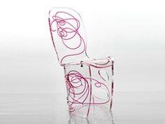SINUOSA | Plexiglass chair