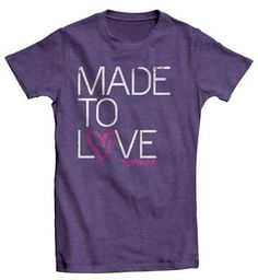 Tobymac - Made To Love T-shirt. Want this shirt so bad!