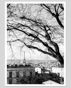 Eiffel Tower from Montmartre