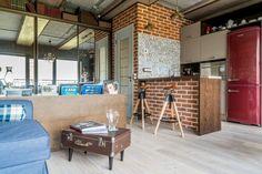 Стиль лофт в интерьере маленькой квартиры-студии