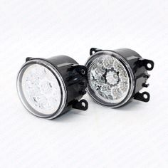 (26.42$)  Watch now - http://aib6c.worlditems.win/all/product.php?id=32800075367 - 2pcs Car Styling Round Front Bumper LED Fog Lights DRL Daytime Running Driving  For HOLDEN COMMODORE Estate (VZ) 2004/09 - 2007/