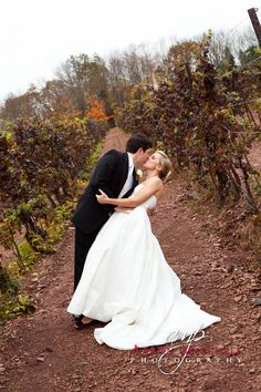 Sharing a moment in the vineyard at Sand Castle Winery