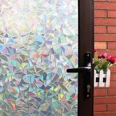 3D Privacy Static Cling Window Film Glass Decor Decal Home Kitchen Clear Door #ForONEDeal