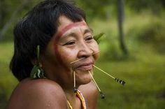 Les Yanomami. Peuple autochtone du Venezuela.