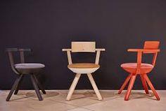 german designer konstantin grcic reveals his first furniture design for the international company artek -- the rival multifunctional task chair Plascon Colours, Chair Design, Furniture Design, Stool Chair, Modern Armchair, Furniture Companies, One Design, Multifunctional, Design Inspiration