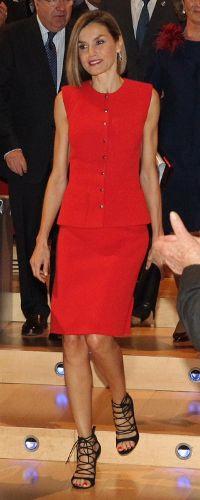 Queen Letizia attends the 'V de Vida' awards ceremony. Palacio de Congresos y Auditorio. Burgos, 23.09.2015