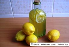 Aromás citromszörp Lime, Stuffed Peppers, Fruit, Vegetables, Drinks, Food, Drinking, Limes, Beverages