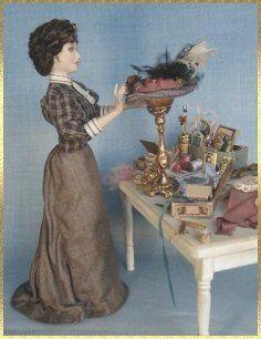 cindy gates miniature dolls- victorian