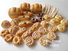 *パン盛り合わせの小物入れ* の画像|SWEETS BASKET (S*Basket)