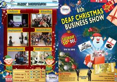 Join us at the 6th Deaf Christmas Business Show on 10 December 2016 from 5pm – 10pm and be part of the Deaf Community's most successful business event. Packed full of opportunities, networking, presentations, advice, information, drinks and dinner!  Ticket: https://www.eventbrite.co.uk/e/deaf-christmas-business-show-2016-in-london-uk-sat-10-dec-16-tickets-26073892715