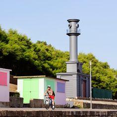 Pablo Bronstein honours Nicholas Hawksmoor<br /> with lighthouse/beach hut hybrid in Folkestone