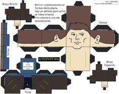 Always Supernatural: Supernatural Paper Dolls