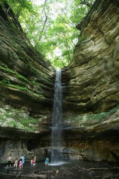Starved Rock State Park, Illinois ~ Read more about Starved Rock and glamping in Illinois in this story on . Oh The Places You'll Go, Places To Travel, Places To Visit, Weekend Trips, Day Trips, State Parks, Glamping, Starved Rock State Park, Roadtrip