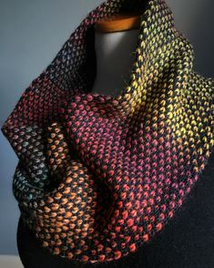 Pembroke Street Cowl by Holli Adams Samet | malabrigo Silky Merino in Black and other yarn