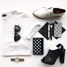 3 Cool Fashion Flat Lay Photos from Instagram | StyleCaster