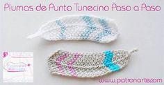 Tunisian Crochet, Diy Crochet, Crochet Stitches, Crochet Bikini, Crochet Top, Crochet Patterns, Crochet Hats, Crochet Feather, Feather Pattern