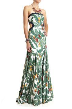 Dresses - Frond Print