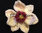 Free Crochet Magnolia Flower Pattern : 1000+ images about Crochet - Magnolia ! on Pinterest ...